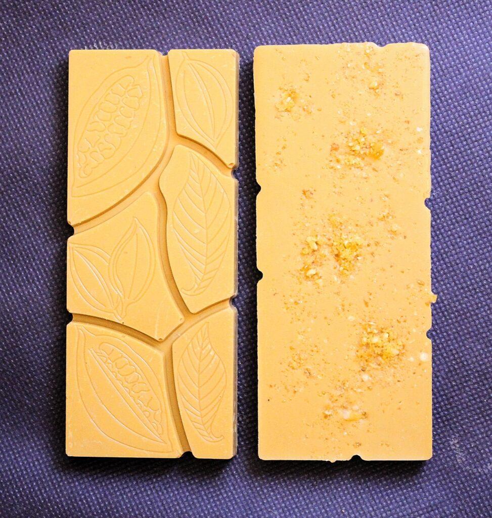 Brown Butter & Hazelnut Praline White Chocolate